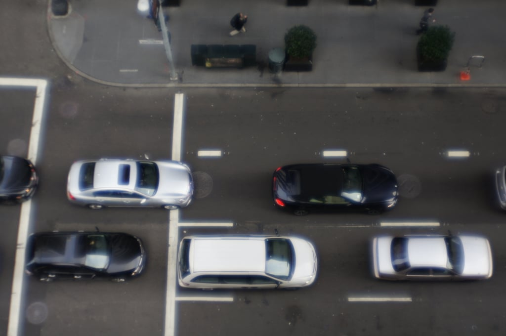 Why are all the cars in San Francisco black, white, and silver?