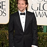 Bradley Cooper Rocks a Classic Tux at the Golden Globes