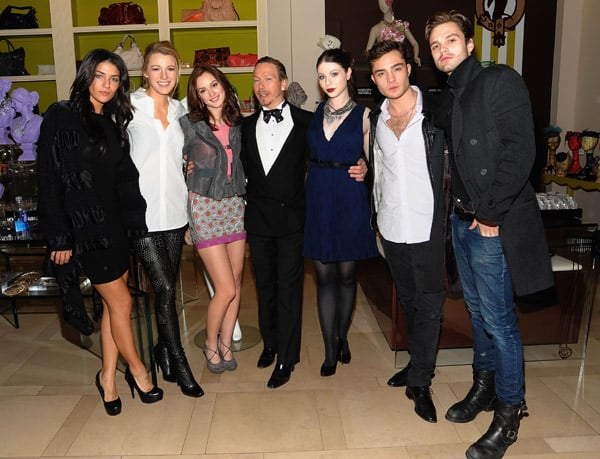 Photos of Blake Lively, Ed Westwick, Jessica Szohr, Leighton Meester and Sebastian Stan at a Party For Gossip Girl's Eric Daman