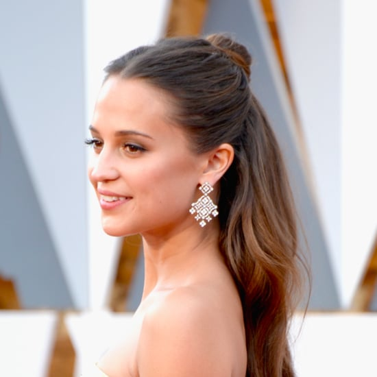 Alicia Vikander Hair and Makeup at the Oscars 2016