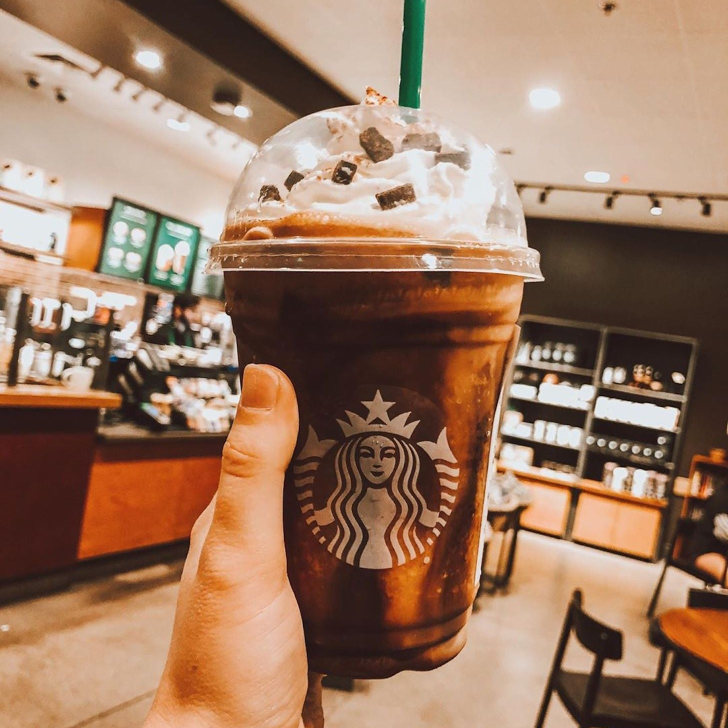 Christmas Starbucks Drinks 2019.How To Get A Jack Skellington Frappuccino At Starbucks