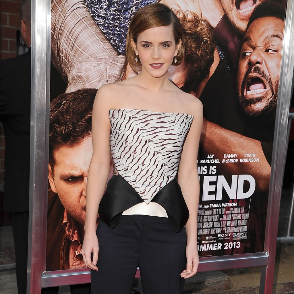Emma Watson Wears the Pants to This Is The End LA Premiere