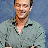 He was all smiles during a Transformers press conference in June 2007.