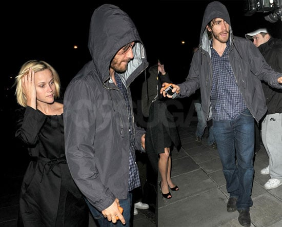Photos of Reese Witherspoon and Jake Gyllenhaal in London 2008-07-08 06:05:00