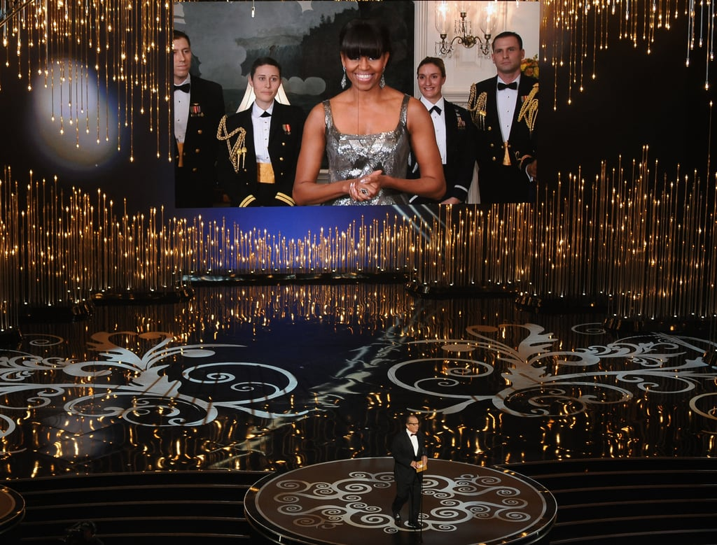 Michelle Obama Presents Best Picture