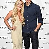 Lauren Burnham and Arie Luyendyk Jr.