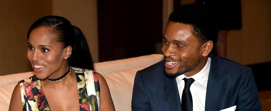 Kerry Washington and Husband Nnamdi Asomugha Enjoy a Glitzy Night Out After Welcoming Their Son