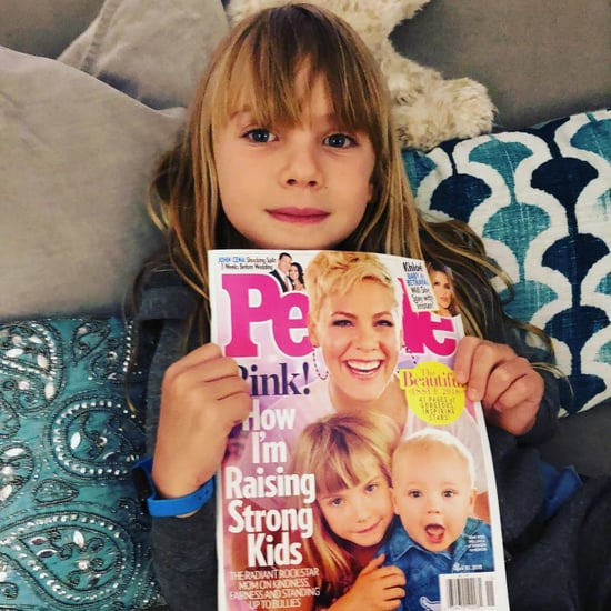 Pink's Daughter Reacts to People Beautiful Issue Cover 2018