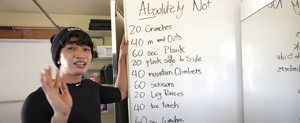 "I Tried Bretman Rock's ""Abs-olutely Not"" Workout"