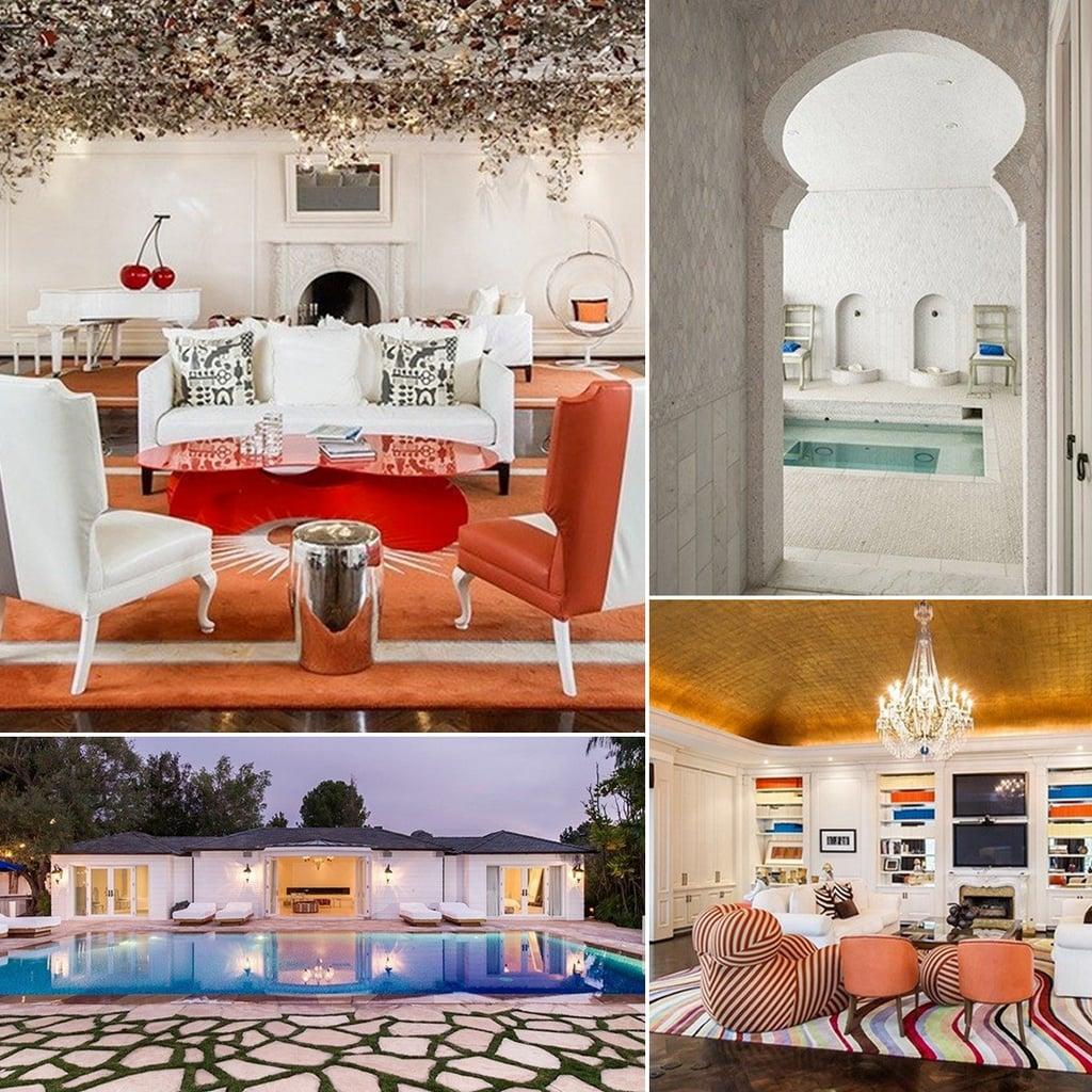 Max Azria's Stylish LA Home