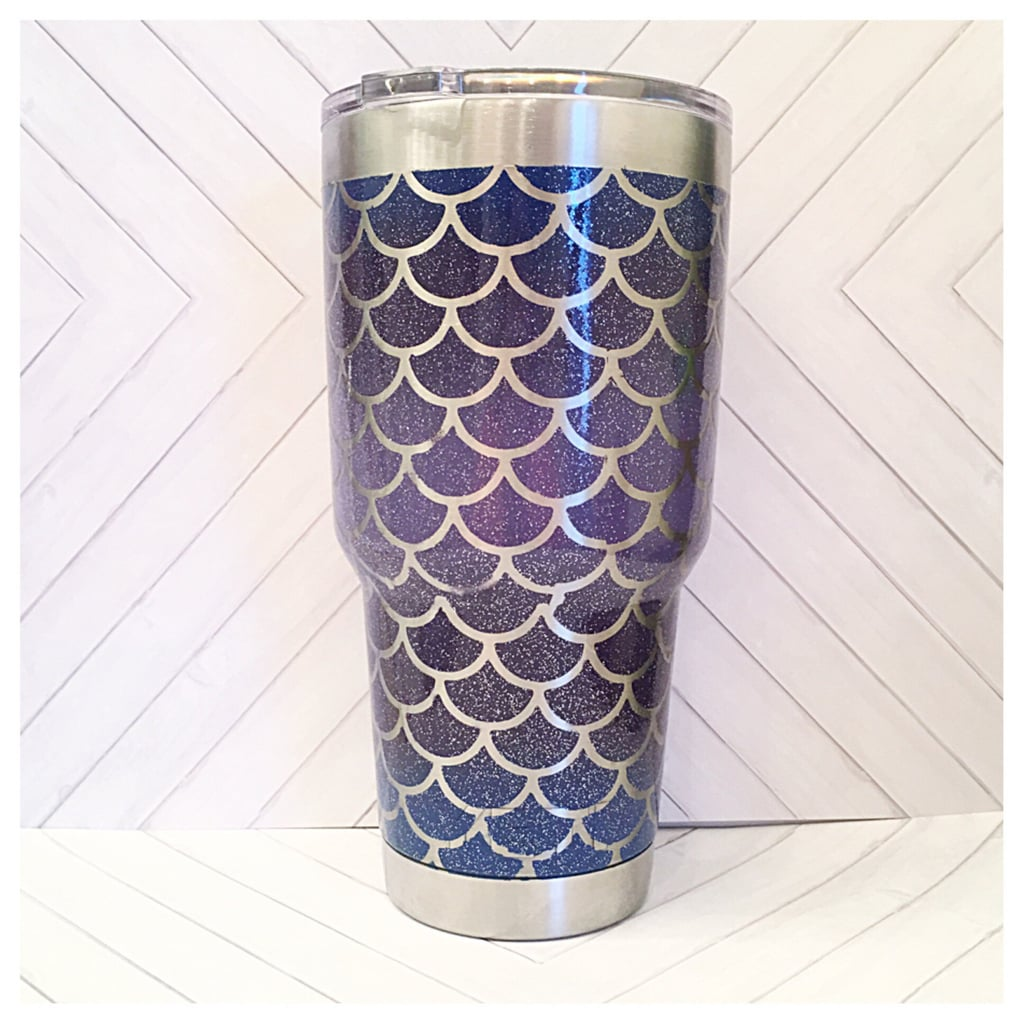 Mermaid Scales 30-Ounce Stainless Steel Cup ($38)