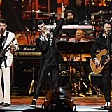 The Jonas Brothers at the MusiCares Person of the Year Event