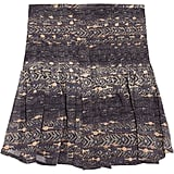 Isabel Marant Nephi Printed Silk-Georgette Mini Skirt ($242)
