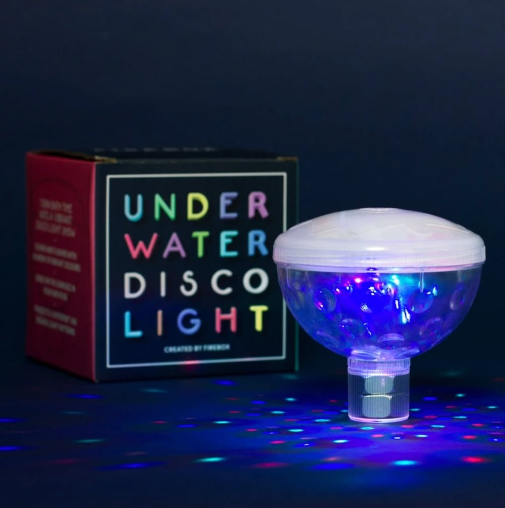 This Underwater Disco Light Is the Bath Accessory You Need