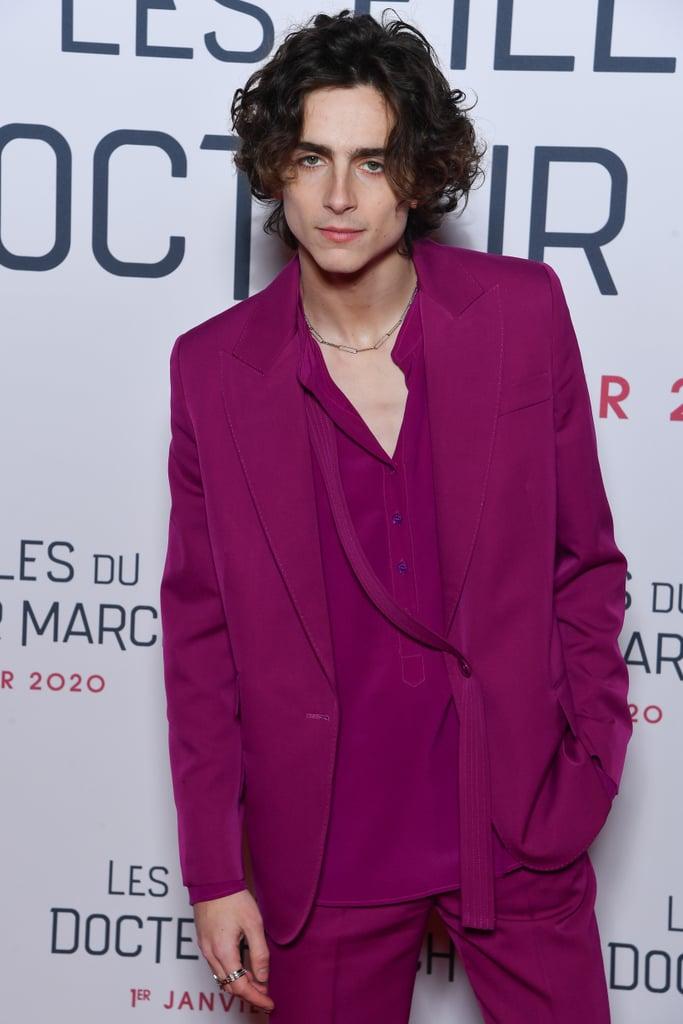 26+ Timothee Chalamet Pink Shirt JPG