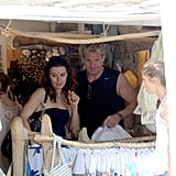 Pictures of Gordon Ramsay Shirtless With Tana