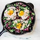 Paleo: Sweet Potato Hash With Fried Eggs