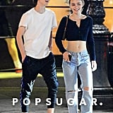 Timothée Chalamet and Lily-Rose Depp Out in NYC Pictures