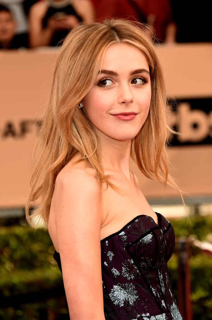 Kiernan Shipka With Blond Hair in 2016