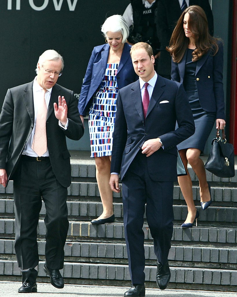 Prince William and his wife, Kate Middleton, were photographed in London this morning as they made their way onto a private jet bound for Canada. Kate and William were at Heathrow with staff members, who are helping to make their nearly two-week-long tour of Canada and the US a success. In North America, fans of the royals are excited for the photo ops and glamorous events to come! William and Kate will make stops across Canada from Prince Edward Island to Calgary. Their itinerary starts tomorrow in Ottawa on July 1, Canada Day! They'll attend a Canadian citizenship ceremony at the Canadian Museum of Civilization and will be present for a full military parade. We can't wait to welcome the royals to the US later in the month, but first they'll have lots of fun north of the border.