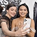 فرانسيسكا ريل وكاميلا منديس في حفل جوائز نقابة ممثلي الشاشة SAG لعام 2020