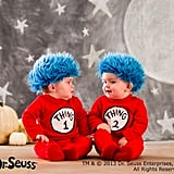 Dr. Seuss's Thing 1 And Thing 2 Baby Costume