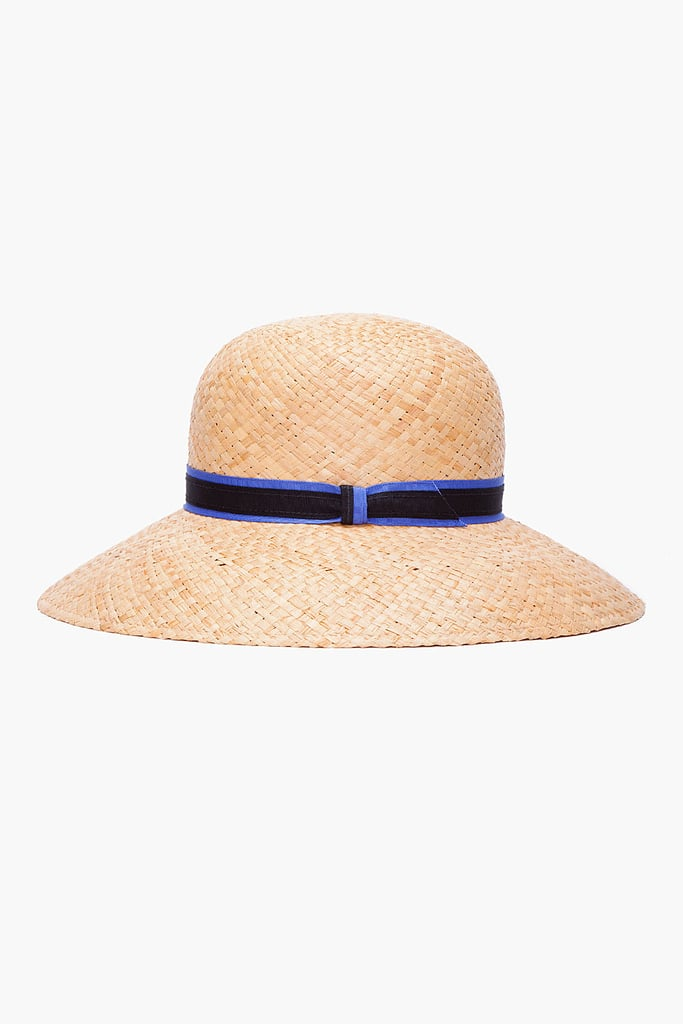 We love the structured silhouette of Rag & Bone's straw wide-brim beach hat ($88, originally $175).