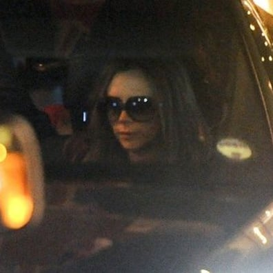 Victoria Beckham Dining Out With Her Kids   Pictures
