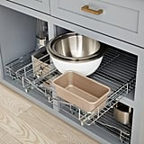 Lynk Chrome Pull-Out Cabinet Drawers