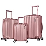 Rockland Hardside Spinner 3-Piece Luggage Set