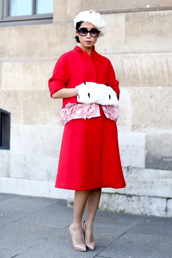A brilliantly hued take on the sophisticate dress code.