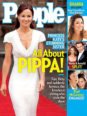 Pictures of Pippa Middleton on the Cover of People Magazine