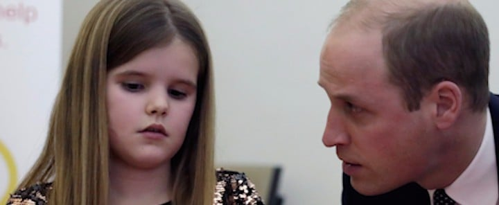 "Prince William Tells a Grieving Child He Lost His ""Mummy,"" Too"
