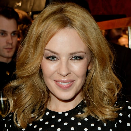 Kylie Minogue Lob Short Hairstyle