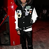 Tyga at the Off-White Fall 2020 Show