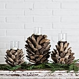 Driftwood Candle Holder ($52)