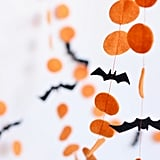 Orange and Black Garland