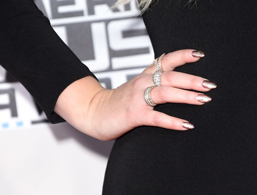 Meghan Trainor, American Music Awards | Celebrity Red Carpet Nails ...