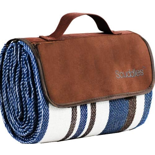 Extra Large Picnic and Outdoor Blanket Dual Layers Tote