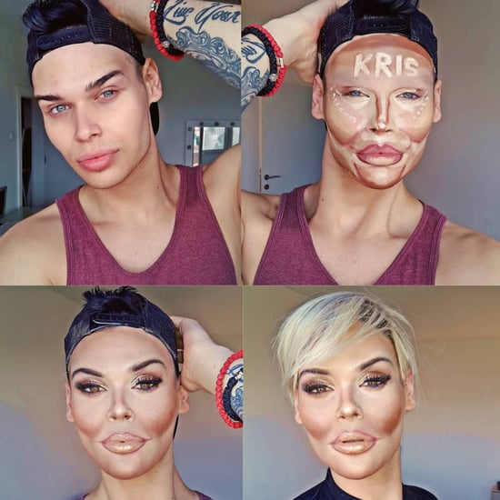 Makeup Artist's Kris Jenner Transformation