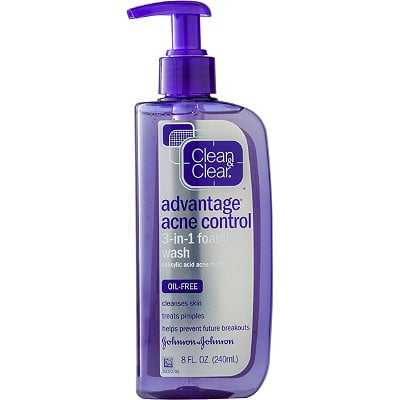 how to use clean and clear advantage acne control kit
