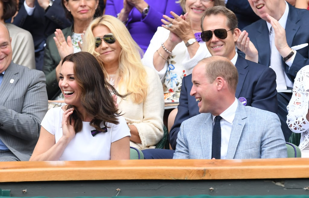 The Duke and Duchess of Cambridge at Wimbledon Pictures 2017