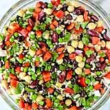 Three-Bean Salad With Wild Rice