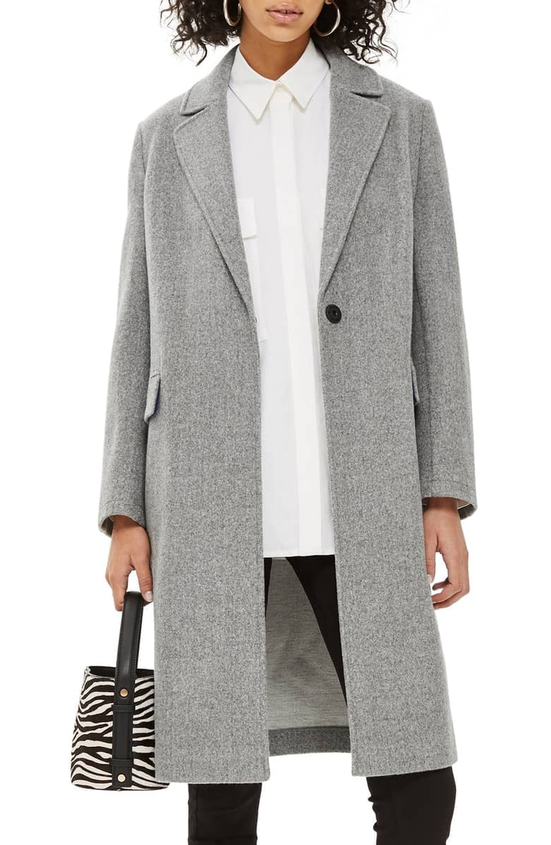 reliable quality super cute good out x Topshop Lily Knit Back Midi Coat | These 19 Chic Coats Are ...