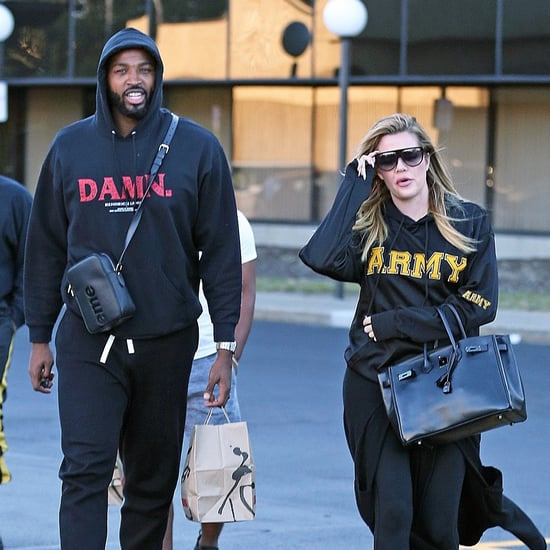 Khloe Kardashian Out in Ohio After Pregnancy News 2017