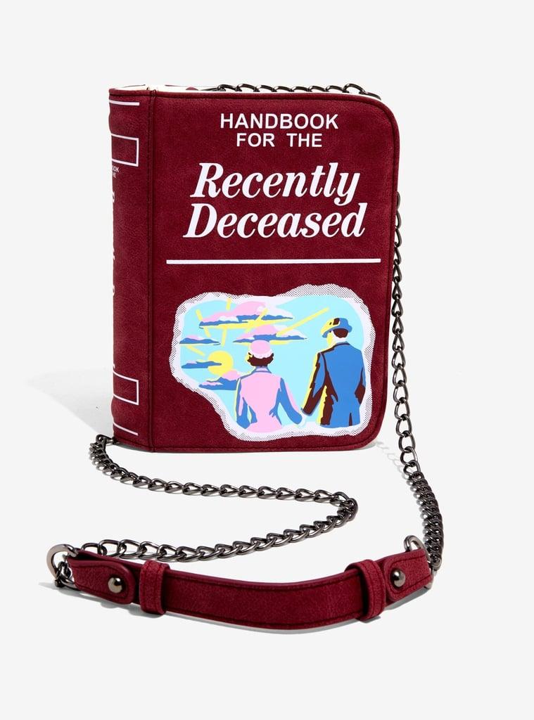 Handbook For the Recently Deceased Crossbody Bag
