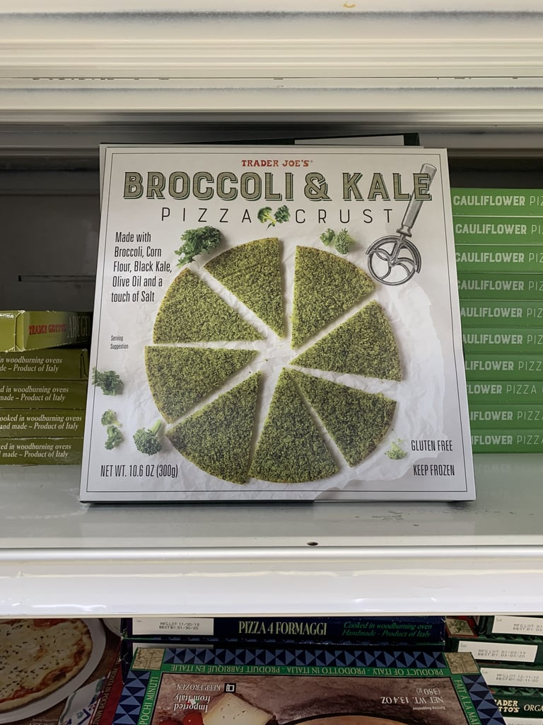 Trader Joe's Broccoli and Kale Pizza Crust