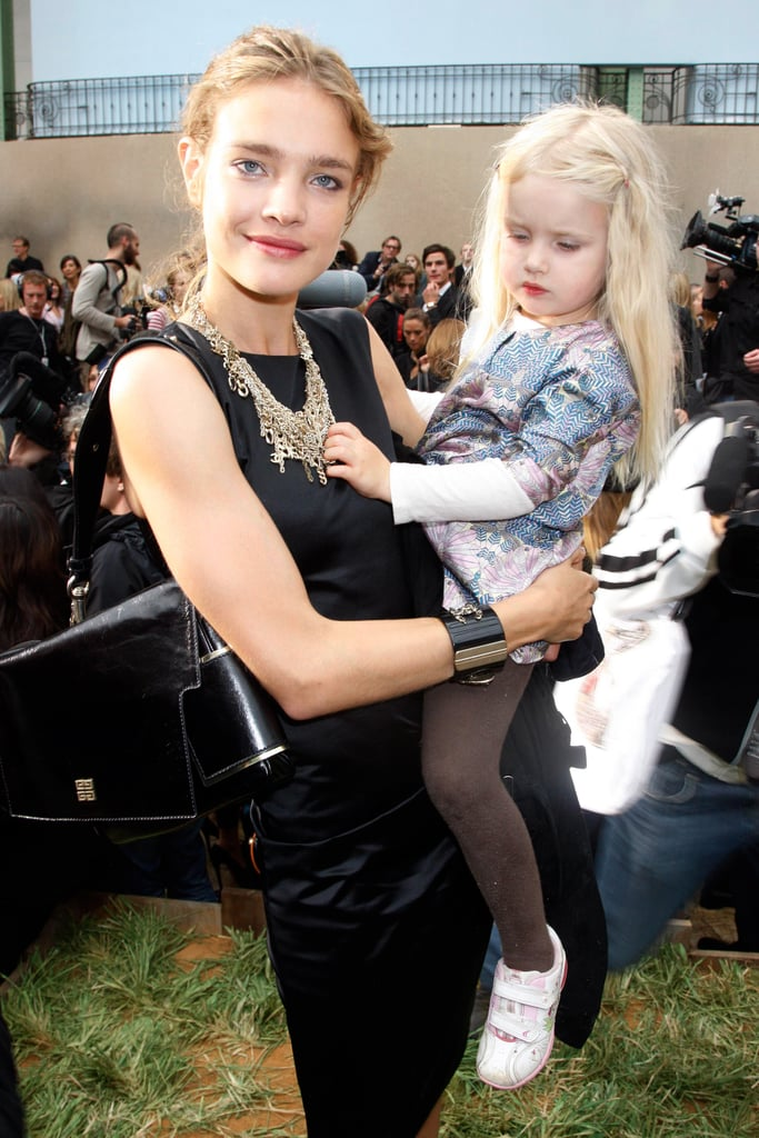 Natalia Vodianova and Her Wee One