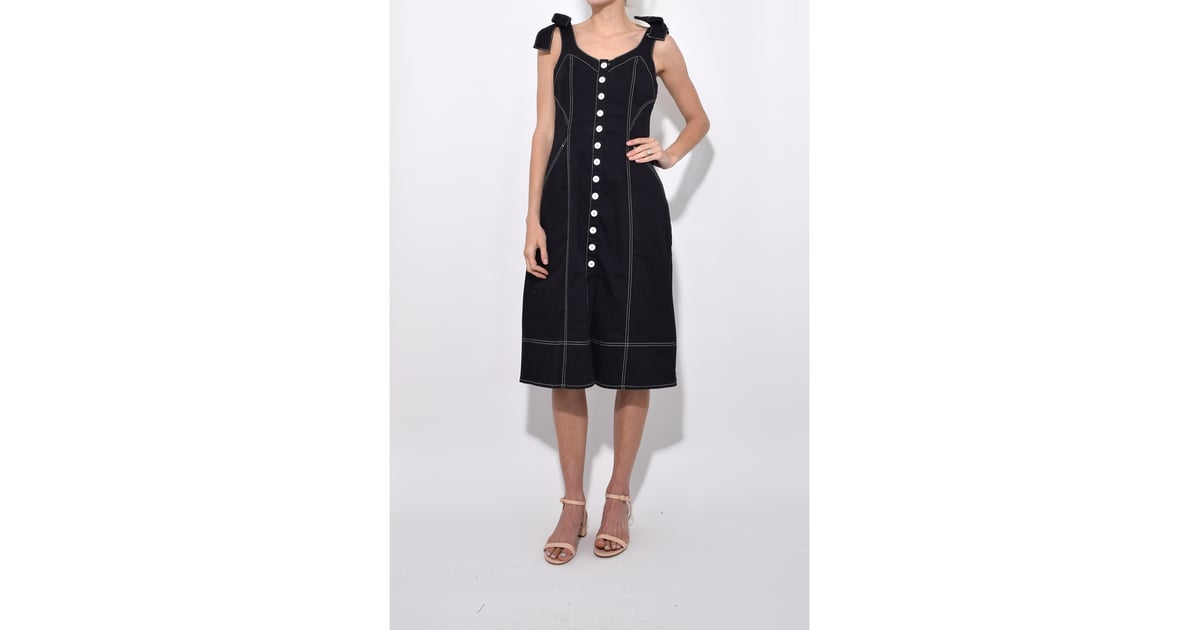 9879828dd8d Ulla Johnson Black Jet Emory Dress