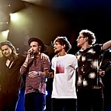 One Direction Performing at Jingle Ball in Dallas in 2015